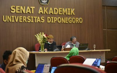 """Undip Academic Senate Once Again Held a Presentation for Prospective Professors """"Spurring the Deans in University Environment to Become Professors"""""""